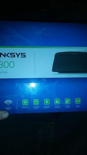 Linksy n300 wireless. Wi fi router for Sale in Jacksonville, FL