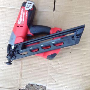 Milwuakee nail gun for Sale in Piedmont, SC
