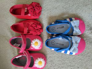 Baby girl shoes 6-12 months for Sale in West Palm Beach, FL