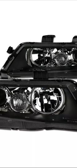 Topline For 2004-2008 Acura TSX JDM Projector Headlights Signal Nb - Black Clear for Sale in Brockton,  MA