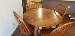 Small dining room table with 4 chairs for Sale in Carmichael, CA
