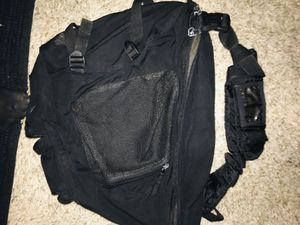 Black laptop tote purse carry-on backpack excellent condition like new only used a couple of times for Sale in Galt, CA