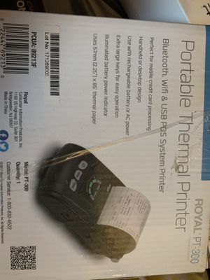 Portable Thermal Printer for Sale in Carnegie, PA