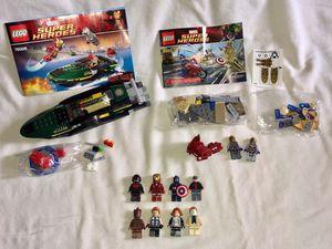 Lot LEGO MARVEL SUPER HEROES IRON MAN CAPTAIN AMERICA for Sale in Las Vegas, NV