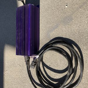 Electric Ballast With Hood & Bulb for Sale in Long Beach, CA
