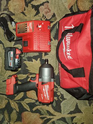 """Milwaukie 1/2"""" high torque impact for Sale in Portland, OR"""