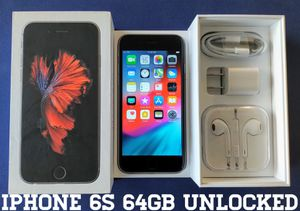 Iphone 6S (64GB) Factory-UNLOCKED (Like-New) for Sale in Falls Church, VA