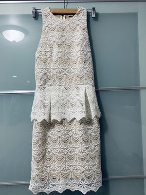Guess peplum lace dress for Sale in Lakewood, CO