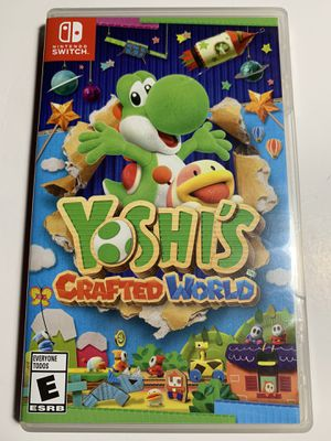Yoshis crafted world for the Nintendo switch for Sale in Clovis, CA