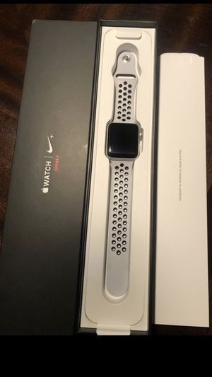 Nike apple watch series 3 42mm gps and cellular for Sale in Chino Hills, CA