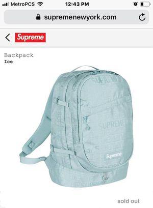 Supreme Ice Backpack brand new for Sale in Alexandria, VA