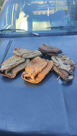 Vintage baseball gloves for Sale in Vancouver, WA