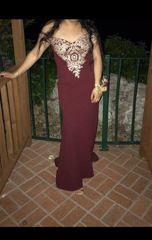 Burgundy Prom Dress for Sale in Pasadena, CA