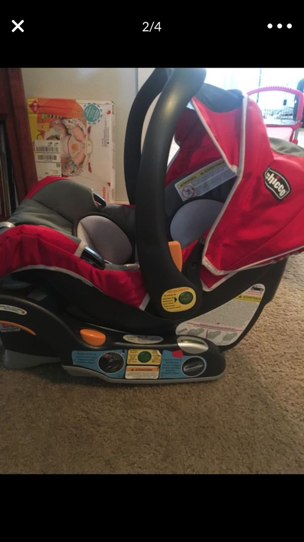 Chico double stroller/Car Seat