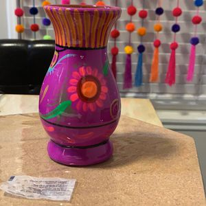 Small Talavera Flower Vase Centerpiece for Sale in San Diego, CA