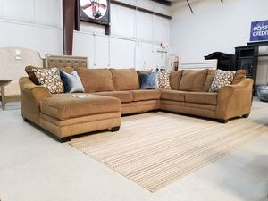 $479 WE DELIVER! BIG SECTIONAL SOFA IN GOOD CONDITION for Sale in Oviedo, FL