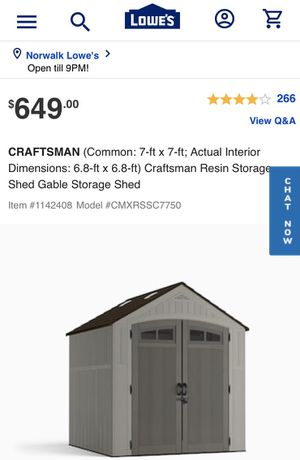 Craftman Shed for Sale in Los Angeles, CA