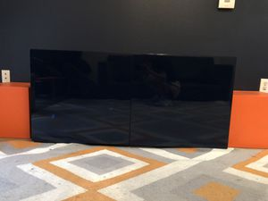 Glossy, navy media console for Sale in Houston, TX