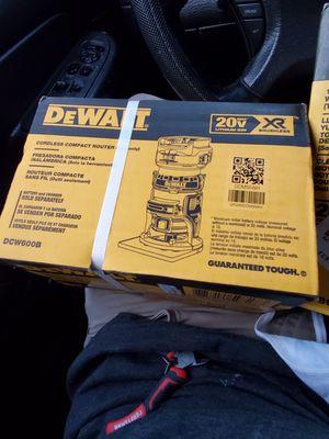 DeWalt 20v XR ROUTER for Sale in Portland, OR