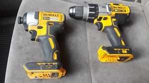 Dewalt impact dcf787 brushless and DeWalt hammer drill dcd996 brushless for Sale in Tacoma, WA
