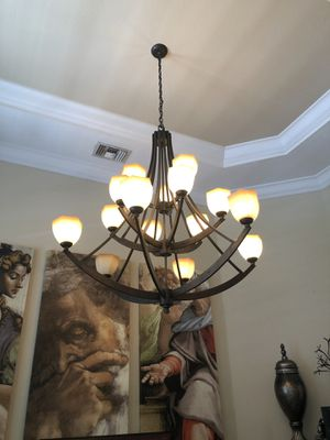Elegant dining table Chandelier for Sale in Miami, FL