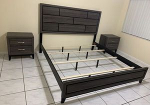 3 pcs king bedroom set for Sale in Princeton, FL