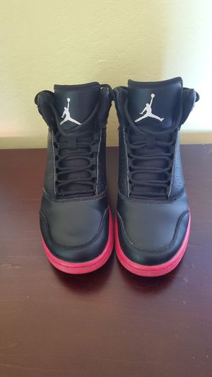 Nike Jordan 1 Flight Hot pink and black 6y for Sale in Richmond, CA