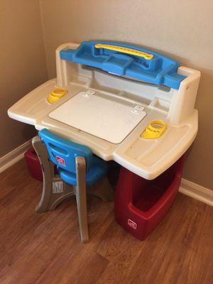 Step 2 kids toddler art desk for Sale in Rosenberg, TX