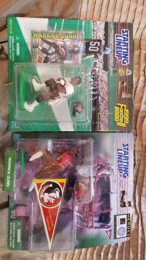 Warrick Dunn Collectible Figures for Sale in Hudson, FL