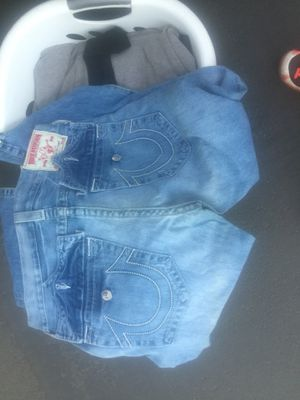 True religious size 34 Ricky style jeans for Sale in Sacramento, CA