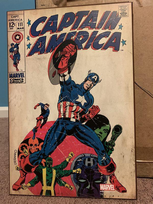 Marvel Comics decor