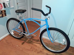 Fleshly painted Old School Huffy Beach Cruiser 26 inch excellent condition rides smooth for Sale in Virginia Beach, VA