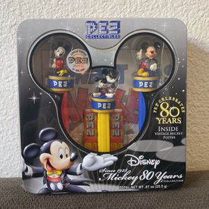 Disney Pez Mickey 80 Years for Sale in Henderson, NV