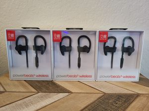 Apple Powerbeats 3 Wireless Headphones - Black *NEW* for Sale in Irvine, CA