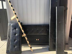 Full Corner Bed Frame Black for Sale in Mooresville, IN