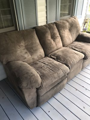 Reclining couch for Sale in Hopkinton, MA