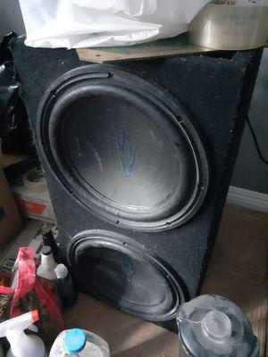 Speaker/ amp for Sale in South Gate, CA