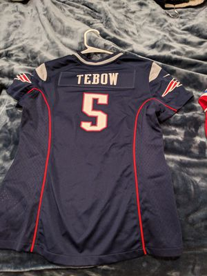 Patriots Tebow Jersey Women's Medium for Sale in San Diego, CA