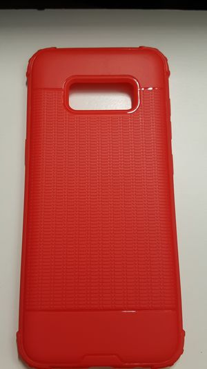 Case for samsung galaxy s8 color red slimcase new 7firm now ship out of the town for Sale in Phoenix, AZ