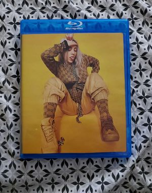 Billie eilish bluray and pokemon card for Sale in Glen Cove, NY