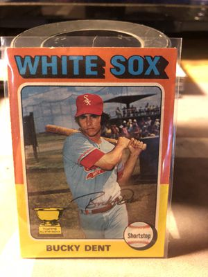 bucky dent topps 1975 #299 for Sale in Fresno, CA