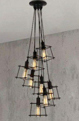 8-light Hanging pendant light for Sale in Pico Rivera, CA