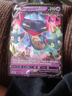Pokemon Dragapult Vmax full holographic card for Sale in South Jordan,  UT