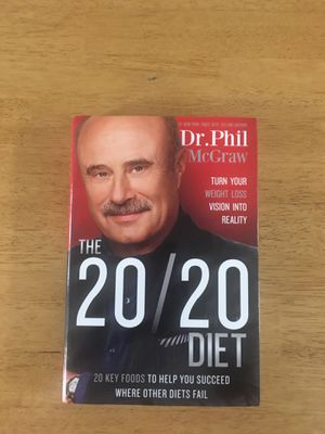 Book Dr. Phil 20/20 diet for Sale in Lake Worth, FL