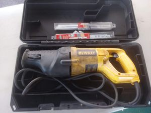 DW310K12.0 AMP RECIPROCATING SAW KIT for Sale in Fort Meade, FL