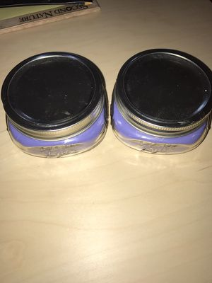Purple Strawberry Scented Candle Set $15 for Sale in Chillum, MD