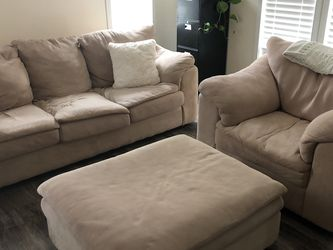 Super Soft Sofa Couch & Chair **Ottoman Not Available ** for Sale in Pomona,  CA