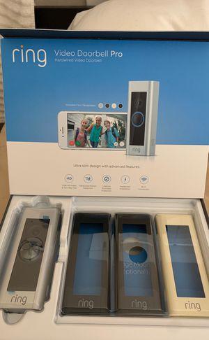 Ring video doorbell Pro 2 for Sale in Ontario, CA