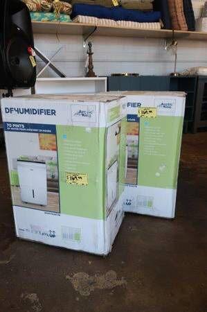 Arctic King 70 Pint Energy Star Clean Air Dehumidifier in White for Sale in Mesa, AZ