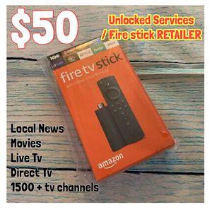 Fire stick MacBook 🔥 amazon tv free smart tv iPhone for Sale in Wilmington, DE